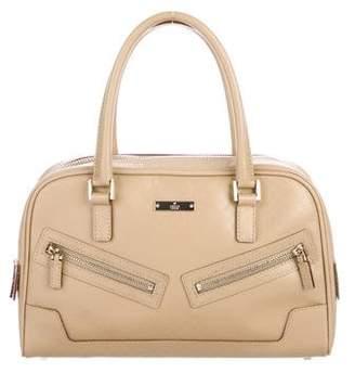 Gucci Vintage Micro Guccissima Boston Bag