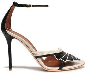 Malone Souliers Two-Tone Leather Sandals
