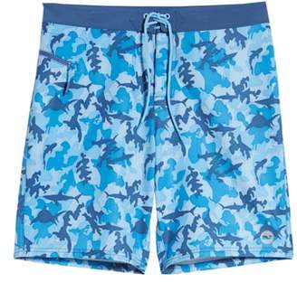 Vineyard Vines x Shark Week(TM) Shark Camo Board Shorts