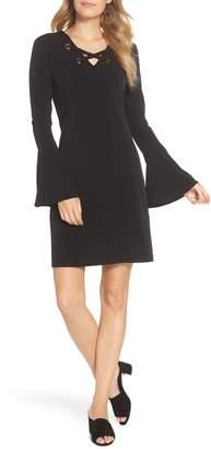MICHAEL Michael Kors Grommet Laced Sheath Dress