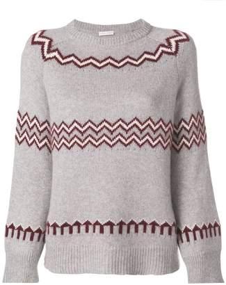Asolo Borgo zig zag knit jumper