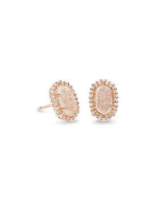 Kendra Scott Cade Stud Earrings in Rose Gold