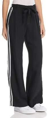Bella Dahl Belted Side-Stripe Pants