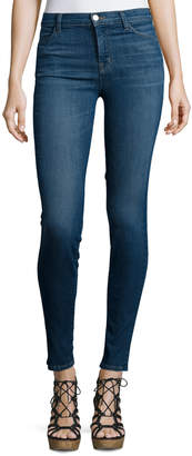 J Brand Maria High-Waist Skinny Jeans, Activate