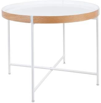 Debenhams Large 'Fjord' Round Tray Side Table