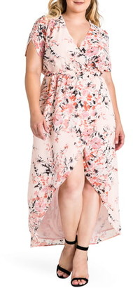 Standards & Practices Robin Wrap Maxi Dress