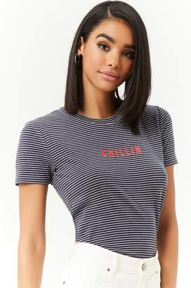 Forever 21 Chillin Graphic Tee