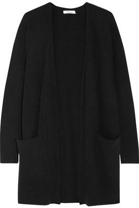 Madewell - Ryder Stretch-knit Cardigan - Black $100 thestylecure.com