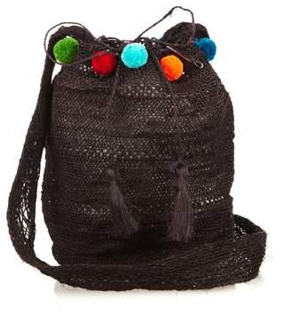 MUZUNGU SISTERS Fique Mochila pompom shoulder bag