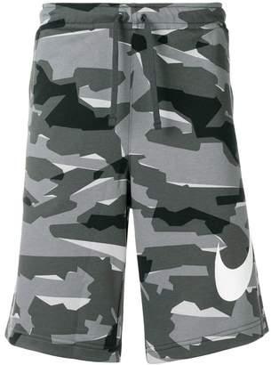 Nike Camo drawstring shorts