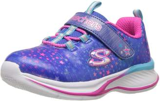 Skechers Girl's Jumpin JAMS - Cosmic Cutie Sneakers, Blue/Multi
