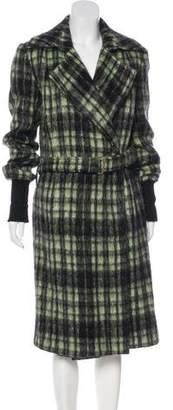Patrizia Pepe Mohair & Wool-Blend Coat