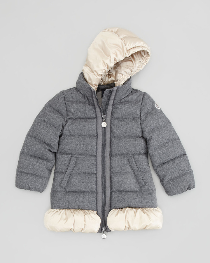 Moncler Nadine Quilted Wool Jacket
