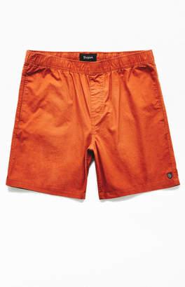 Brixton Orange Steady Elastic Shorts