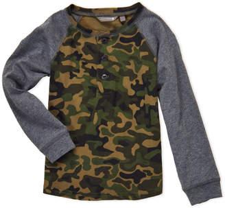 Scouts Brand (Boys 4-7) Camouflage Raglan Henley