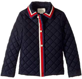 Gucci Kids Outerwear 477721XBB86 Girl's Coat