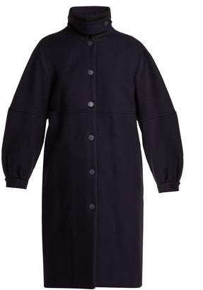See by Chloe City wool-blend overcoat
