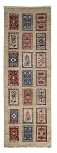 Adina Collection Oriental Rug, 2'9 x 7'10