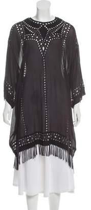 8c62cf9981 Etoile Isabel Marant Eyelet Cover-Up Dress