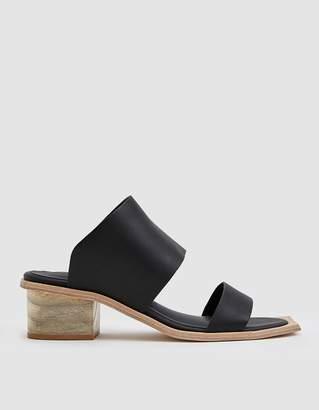Wal & Pai Feline Wood Heel Sandal