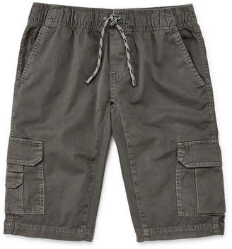 Arizona Woven Cargo Shorts Boys 4-20, Slim & Husky