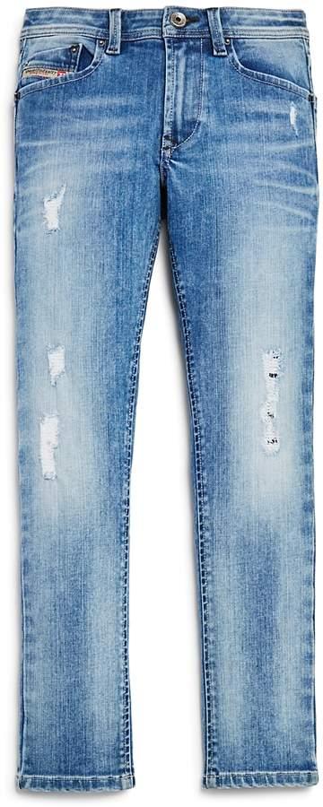 Boys' Straight Leg Jeans - Big Kid