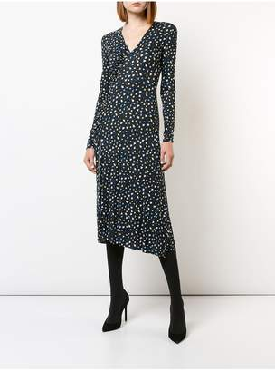 Jason Wu Blurred Mini Floral Jersey Dress