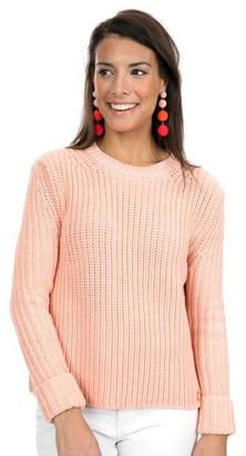 Barbour Barbour® Peach Millie Sweater $188 thestylecure.com