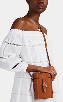 Officina del Poggio Women's Mini Safari Leather Crossbody Bag - Brown