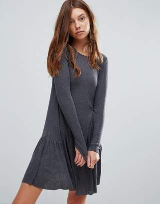 Pull&Bear Frill Hem Mini Dress