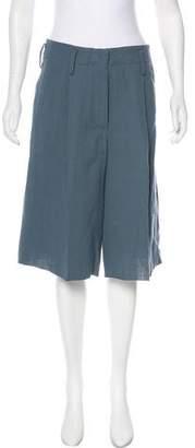 Giada Forte High-Rise Knee-Length Shorts w/ Tags