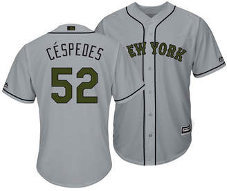 Majestic Men's Yoenis Cespedes New York Mets Memorial Day Cool Base Jersey