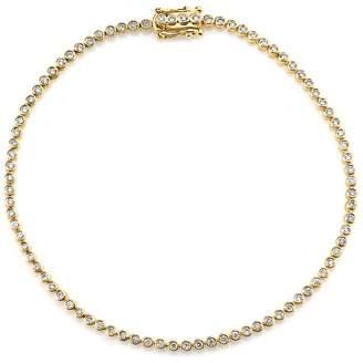Sydney Evan Yellow Gold Diamond Eternity Bracelet