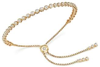 Bloomingdale's Diamond Bezel Tennis Bolo Bracelet in 14K Yellow Gold, 1.20 ct. t.w. - 100% Exclusive