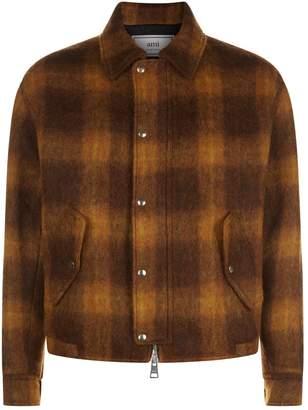 Ami Paris Checked Blouson Jacket