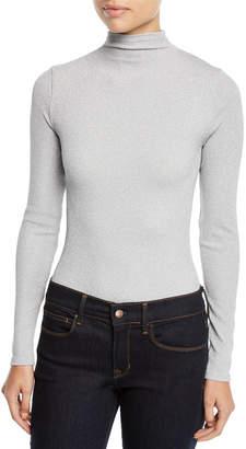 Wolford Joan Turtleneck Metallic Bodysuit