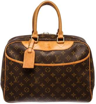 Louis Vuitton Trouville leather satchel