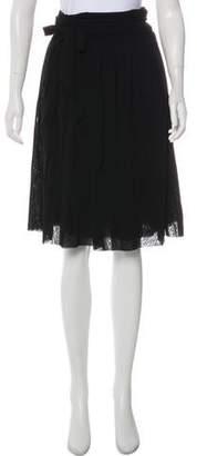 Jean Paul Gaultier Soleil Mesh Wrap Skirt