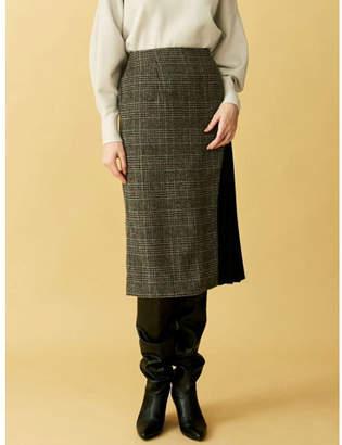 LAGUNAMOON (ラグナムーン) - LAGUNAMOON アートカッティングプリーツタイトスカート