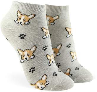 f2cc85cee0c Forever 21 Corgi Graphic Ankle Socks