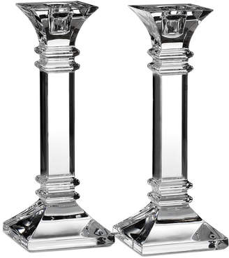 "Marquis by Waterford Treviso 8"" Set of 2 Candlesticks"