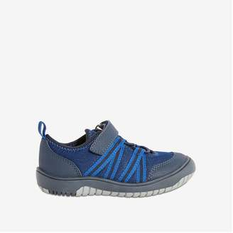 Joe Fresh Toddler Boys' Running Shoes with Bungee Laces, Midnight Blue (Size 9)