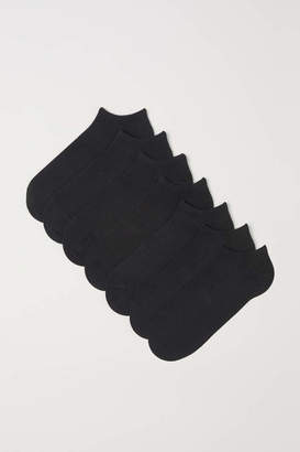 H&M 7-pack Liner Socks - White - Men