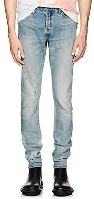 John Elliott Men's Cast 2 Distressed Slim Jeans - Blue