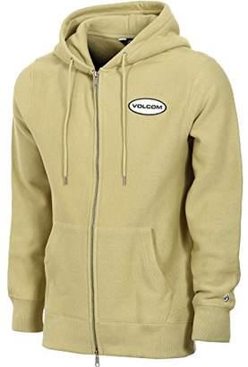 Volcom Men's Comply Hooded Zip Fleece Hoodie