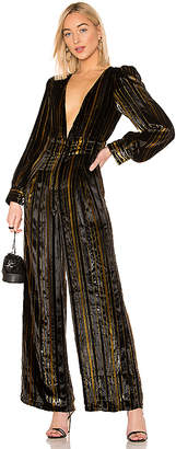 House Of Harlow x REVOLVE Charo Silk Jumpsuit