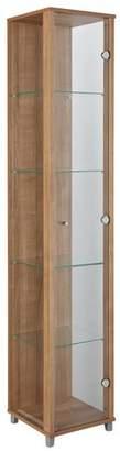 Argos Home 1 Door Glass Display Cabinet - Light Oak
