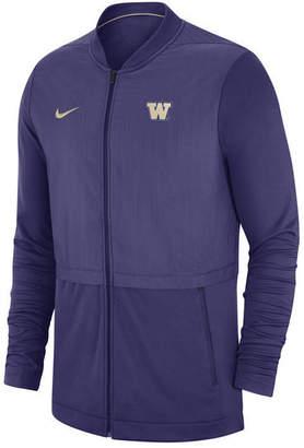Nike Men's Washington Huskies Elite Hybrid Full-Zip Jacket