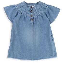 Chloé Little Girl's& Girl's Mini Me Denim Dress