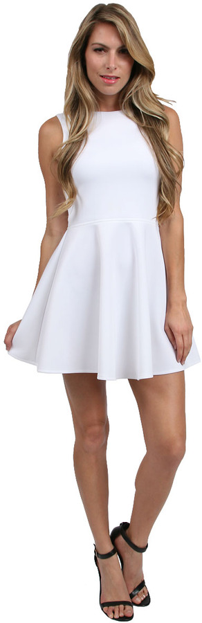 Boulee Avery Dress in White